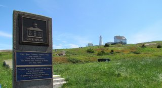 1-1 Cape Spear Lighthouse National Historic Site - Canada starts or ends here depending on which way you look - Photo Debra Smith