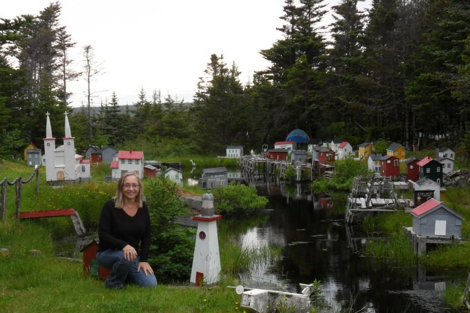 5 The model of the Mullett's home in Oderin Harbour was a labour of love - Photo by Debra Smith (2)