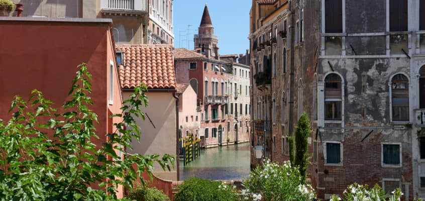 A Luxury Family Hotel in Venice