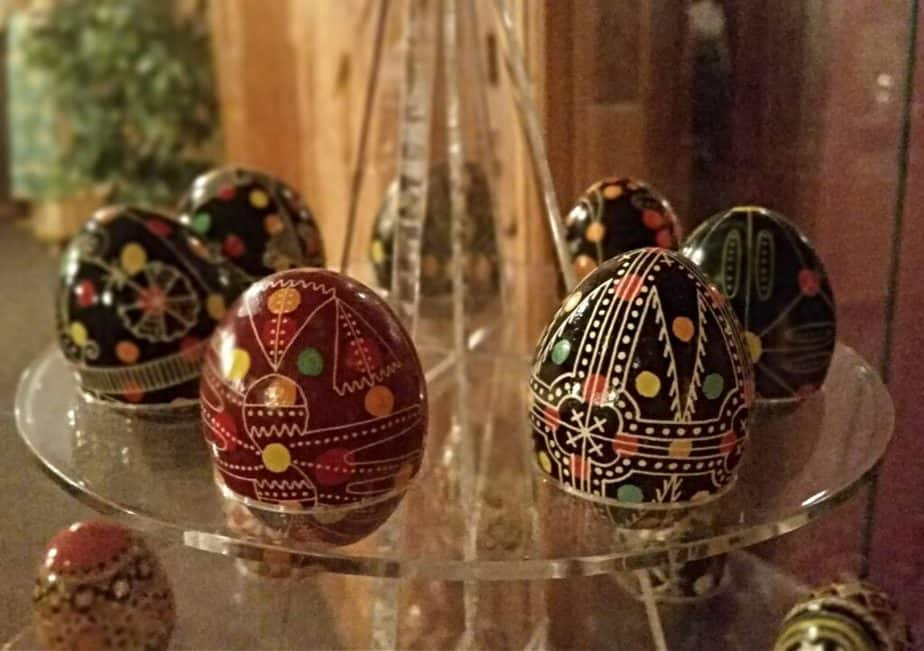 Ukrainian Easter eggs are a farm life tradition